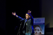James Mullinger at Stand Up For Women