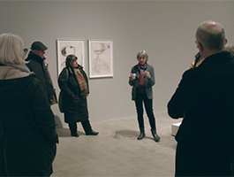 Exhibition tour and discussion with Annette Ratuszniak, Curator of the Frink Estate and Archive